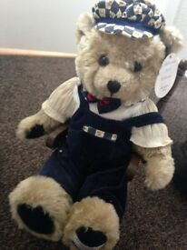 Millenium 2000 collectable teddy and rocking chair