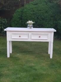 Shabby chic dressing table or side unit