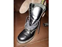 Size 6 black, as new Dr Martins boots.