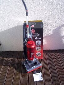 HOOVER WHIRLWIND 'A' CLASS BAGLESS LIGHTWEIGHT VACUUM, BOXED , EXCELLENT SUCTION-EX DEMO IMMACULATE