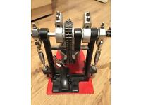 Pedal and connector double pedal millennium pro