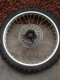 Honda CR 125/250 CRF 250/450 Front Wheel