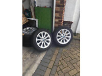 "Set of 16"" BMW Alloys & Tyres Fits 1 Series"