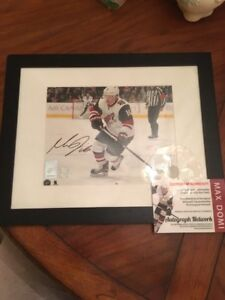 "Max Domi Framed Autographed Photo 8"" x 10"" with COA"
