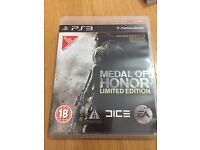 Medal of honour limeted edition PS3