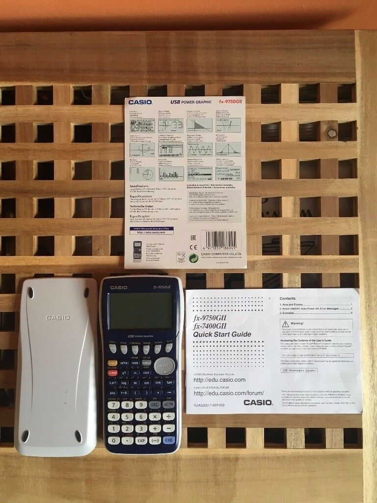Casio Graphics Calculator FX-9750GII (A Level)