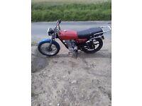 Shenda SD 125 10 months mot SWAP 50cc scooter