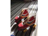 Retro roller skates- size 6