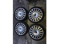 """Set of 4 Ford 18"""" ST alloys for sale (5 stud)"""