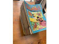200+ Comic books Vintage Beano & Dandy