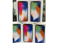 APPLE IPHONE X 256GB UNLOCKED BRAND NEW CONDITION OPEN ON ALL NETWORKS APPLE WARRANTY