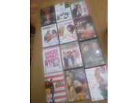 12 Chick flicks Dvds