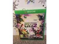 Xbox one Plants vs Zombies GW2 game