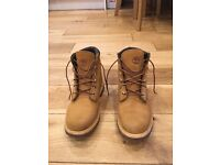 Tan timberland boots, UK size 6