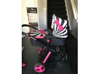 Cosatto Giggle-2 3in 1 Travel System - Pram, Buggy