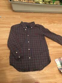 Boys Ralph Lauren shirt aged 6 £8