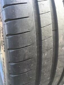 2 x 235/35/19 Michelin pilot super sport 6-7/32