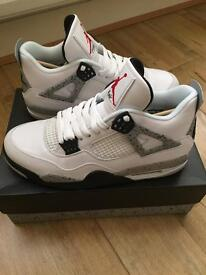 Nike Air Jordan 4 White Cement OG UK size 9