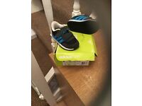 Boys addidas trainers size c4