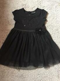 Next Black Dress - Age 9-12 months