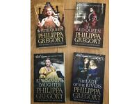 4 books by phillipa Gregory- the white queen series