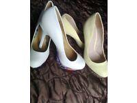 2 Pair Ladies Party Shoes size 5