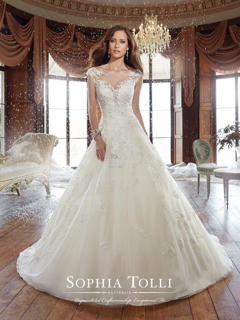 Sophia Tolli Wedding Dress Style Y21509 Sam