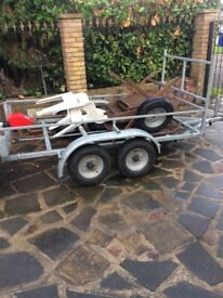 Twin axle trailor for sale