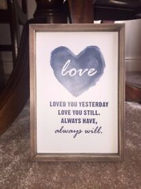 Love Quote Frame