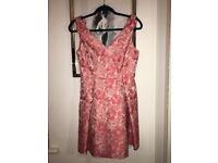 Miss Selfridge pink floral dress-BRAND NEW-size 10