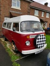 Vw t2 late bay camper van