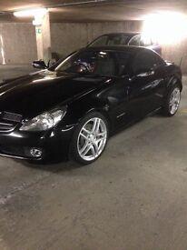 Mercedes slk 200 black 2010 9 months Mot fully loaded full leather sat nav Bluetooth climate cruise
