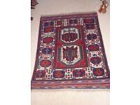 Genuine Vintage Persian Rug, Wool, Tribal, Rare