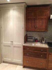 Kitchen Larder Unit Stand-alone Pantry Shaker style
