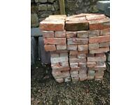 200 Hand made bricks