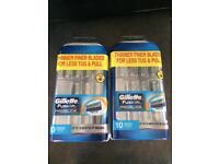 Gillette Proglide Fusion x2 boxes