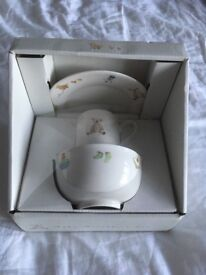 M&S Baby Breakfast Set, unopened. Bowl, Cup and Plate
