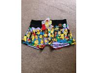 The Simpsons Boxers Shorts size Medium (brand new)