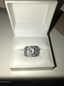 Men's Iced Rings
