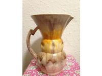 Sylvac Art Deco, Retro, Vintage Pottery Jug/Vase/Pitcher