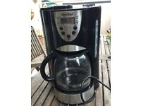 VonShef filter coffee maker with grinder