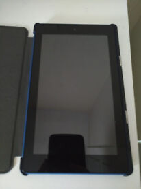 Fire 7'' display 16GB tablet with case. Barely used. COLLECTION only!