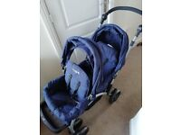 Cuggl double buggy excellent condition now £50