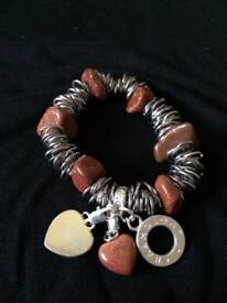 Goldstone Charmology Bracelet