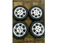 """Rover Alloy wheels 15"""" to suit Rover 200 400 25 45 MG ZR ZS"""