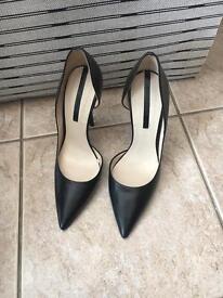 Zara Black Stilettos BRAND NEW