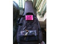 PRS delux guitar bag in excellent condition,