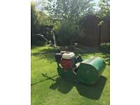 Ransomes Autocertes Mower for cricket greens