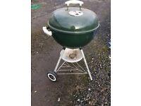 Weber coal barbecue.