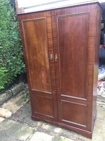 Large wardrobe stag minstrel antique *Delivery Available